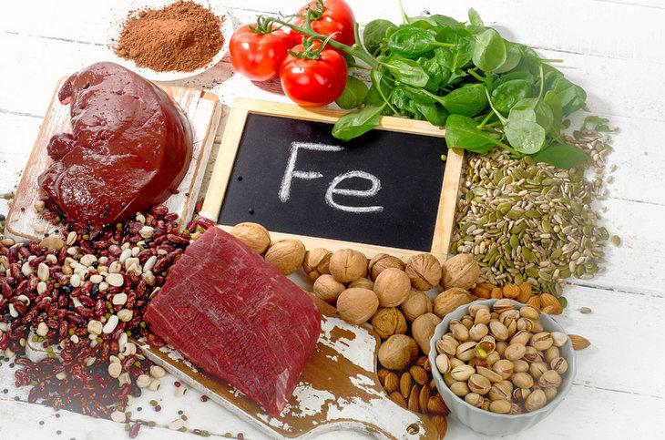 продукты железо