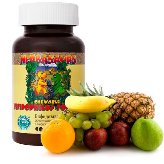 бифидозаврики витамины для детей от нсп