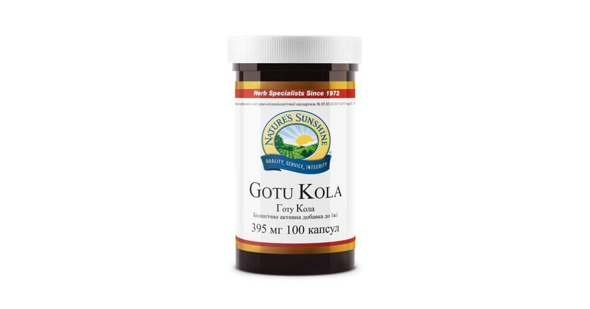 Gotu Kola kupit 1 1200x630 - Биологически активная добавка от NSP Готу Кола