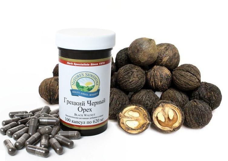 chernyy oreh 18 16080903 - Биологически активная добавка от NSP Грецкий Чёрный орех